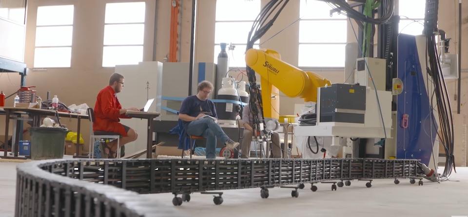 robot construit à Nantes